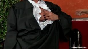 lezdom police amd Judge