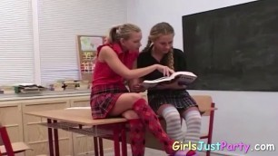 Lesbian couple having a great and passionate sex