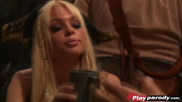 Big tit bombshell Jesse Jane is having wild sex with pirate