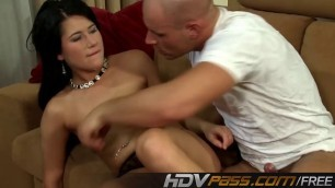 Lucy babe fucks cowgirl in black panty