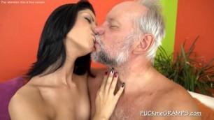 Babe Sasha Teases Gramps