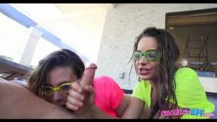 Poolside Fun With Anya Olsen, Kimmy Granger