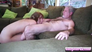 Two daughters were swapped by their fathers and fucked hard
