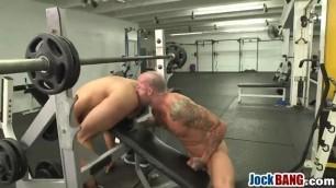 Muscular Gym Gay Studs Rimjob Anal Fuck Big Schlong