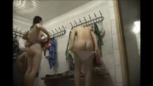 Hot naked Students spied in a locker room