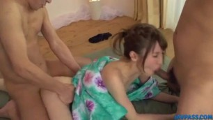 Flaming scenes of heavy xxx group sex with Karin