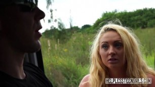Blonde Teen Penny Agrees To Rough Sex