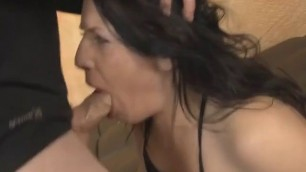 Brunette Whore Fallon West Getting Cock Shoved Down Throat