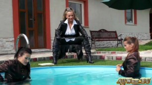 Two Girls Punished By Mistress