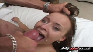 Bailey Bliss, Brooklyn Night, Claire Robbins, Jersey Jaxin, Kate, and Lexxi Rippa love jizz on their face