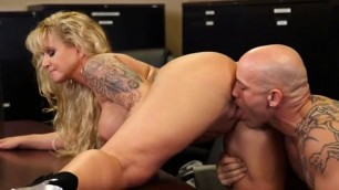Milfs ryan conner at office