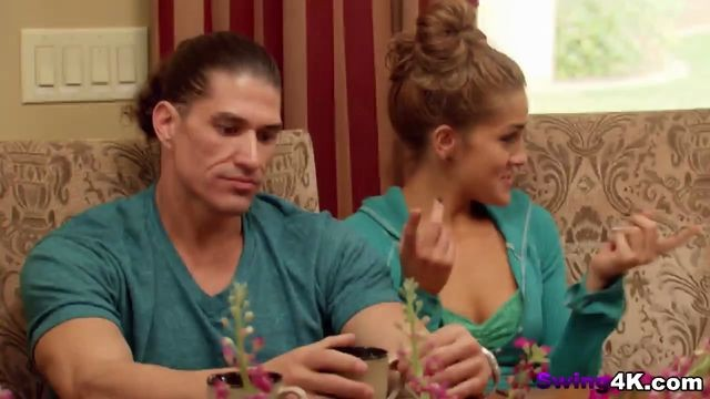Couples enjoy watching hot strippers in reality show