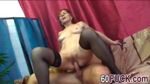 Ivette is a horny granny always ready to get fucked hard