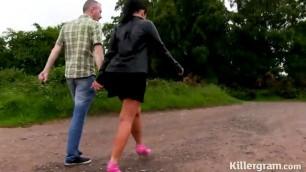 Wife Fucking Big Dick Big Tit Slut Nicola Kiss Gangbanged In Public