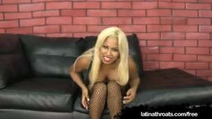 Sexy latina desiree lopez shows her boobs and pussy