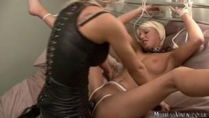 Lesbo cute slave BONDAGE PART 2