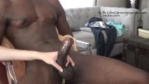 Big black cock multiple cumshot