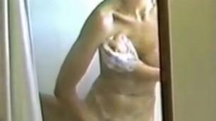 My shower masturbation in 1992