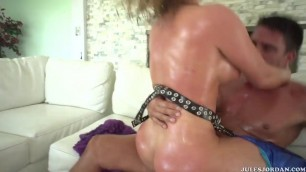 Krissy Lynn likes taking two cocks at the same time