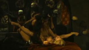 Jesse Jane and Katsuni in pirate threesome sex