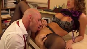 Kortney kane in office Madly fucked with a partner at work