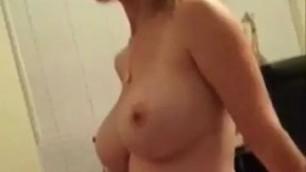 Attractive Wife Alysha With Big Tits Homemade