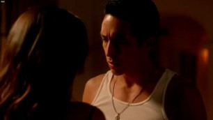 Natalie Martinez Matador hot scene in the bedroom with a beautiful couple
