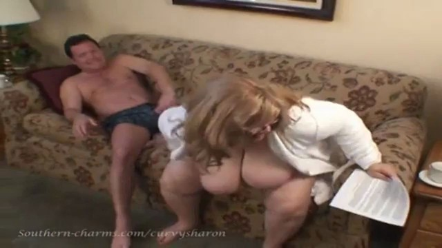 2 busty bbw vs 1 guy - 3 6