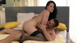 Dolly Diore Doggystyle creampie for sexy milf in stockings and high heels