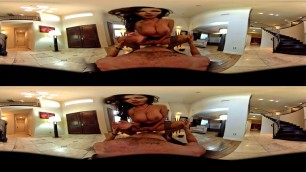 VR Nikki Benz rides big dick in POV Virtual Reality experience