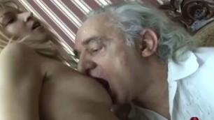 Old Handicapped guy bangs joleyn sexy blonde hottie