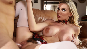 Kenzie Taylor Gently Sucks Her Boyfriend's Cock