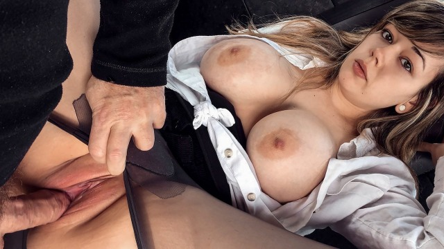 Fake Taxi - Busty Passenger Madison Stuart Gives Good Tit Wank