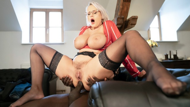 Mom XXX - Anal and facial with big tits MILF Angel Wicky