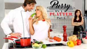 DigitalPlayground - Aria Alexander  Luna Star Pussy On A Platter Part 2