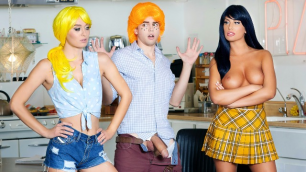 DigitalPlayground - August Ames & Natalia Starr Betty & Veronica: An Archie Comics XXX Parody