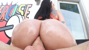 Evil Angel - Busty Raven Bay Again Has Come On The Third Anal Scene Ever!