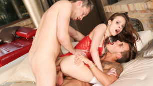 Evil Angel - Mary Wet Correctly Understood That 'Playing Doctor' Means Anal Threesome
