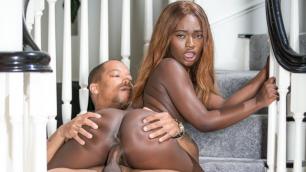 Devils Film - Small Dark Diva Noemie Bilas With Her Black Boyfriend