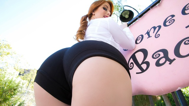 Penny Pax Is A Waitress At A Vintage-Themed In Sweet Cheeks