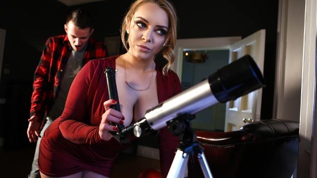 Brazzers - Liza Del Sierra Take New Hands-On Level In Asstronomy