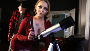 Brazzers - Liza Del Sierra Take New Hands-On Level In Asstronomy