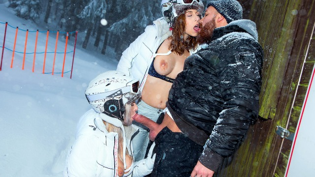 Digitalplaygrounds - Ski Bums Episode 3 Male Hunting Antonia Sainz, Nikky Dream