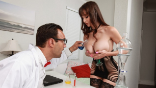 He Has Finally Created His Ultimate Creation – Lexi Luna In Dreamy Lab Dancer