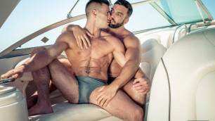 Men - Men In Ibiza Part 2 Take My Sweet Ass Abraham Al Malek And Paddy O'Brian