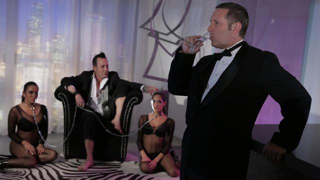 Wicked - Sinner's Ball, Scene 3 Adriana Luna, Chloe Amour Threesome