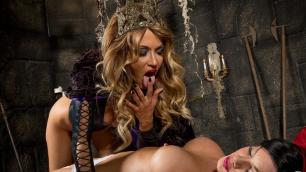 Wicked - Snow White XXX: An Axel Braun Parody, Scene 4 Jessica Drake Dominates Riley Steele