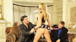 Wicked - On the Air, Scene 4 Carter Cruise Sex With Two Men