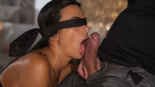 Momxxx - Blindfolded Blowjob Shalina Devine Hot Milf