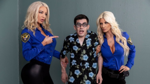 Fucking His Way With Brittany Andrews And Nicolette Shea Into the U.S.A